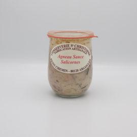 Agneau sauce salicornes 1