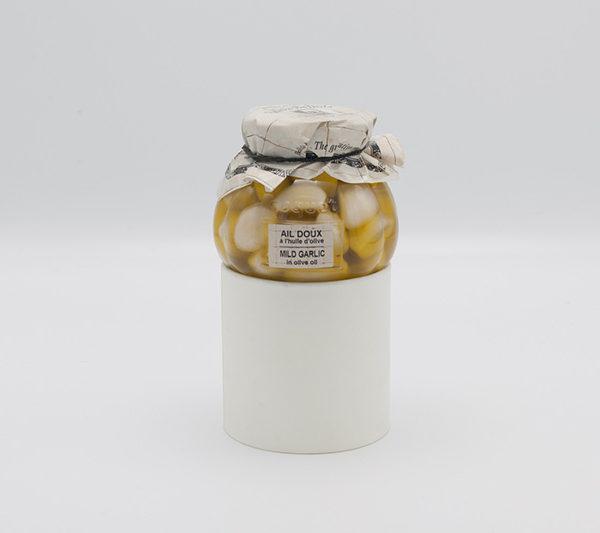Ail doux à l'huile d'olives 1
