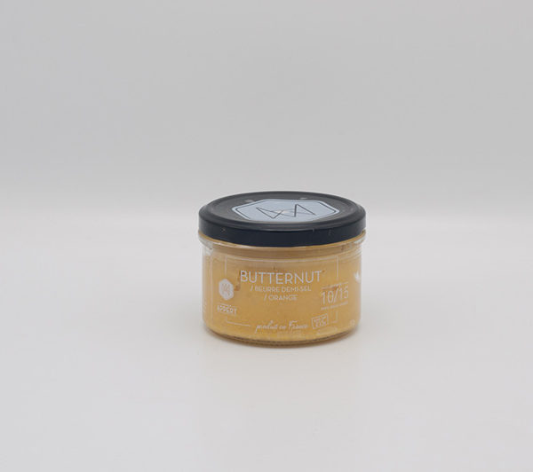 Butternut beurre demi sel orange popwhite - Beurre demi sel maison ...