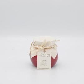 Confit de rose paillettes d'or 1