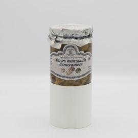 Olives manzanilla dénoyautées 1
