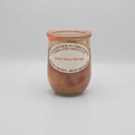 Poulet sauce marengo 1